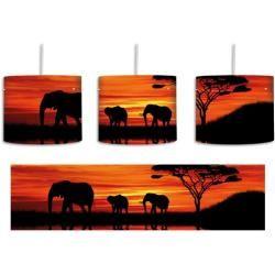 Trommel-Pendelleuchte 1-flammig Afrika ElefantWayfair.de #pflanzenimschlafzimmer
