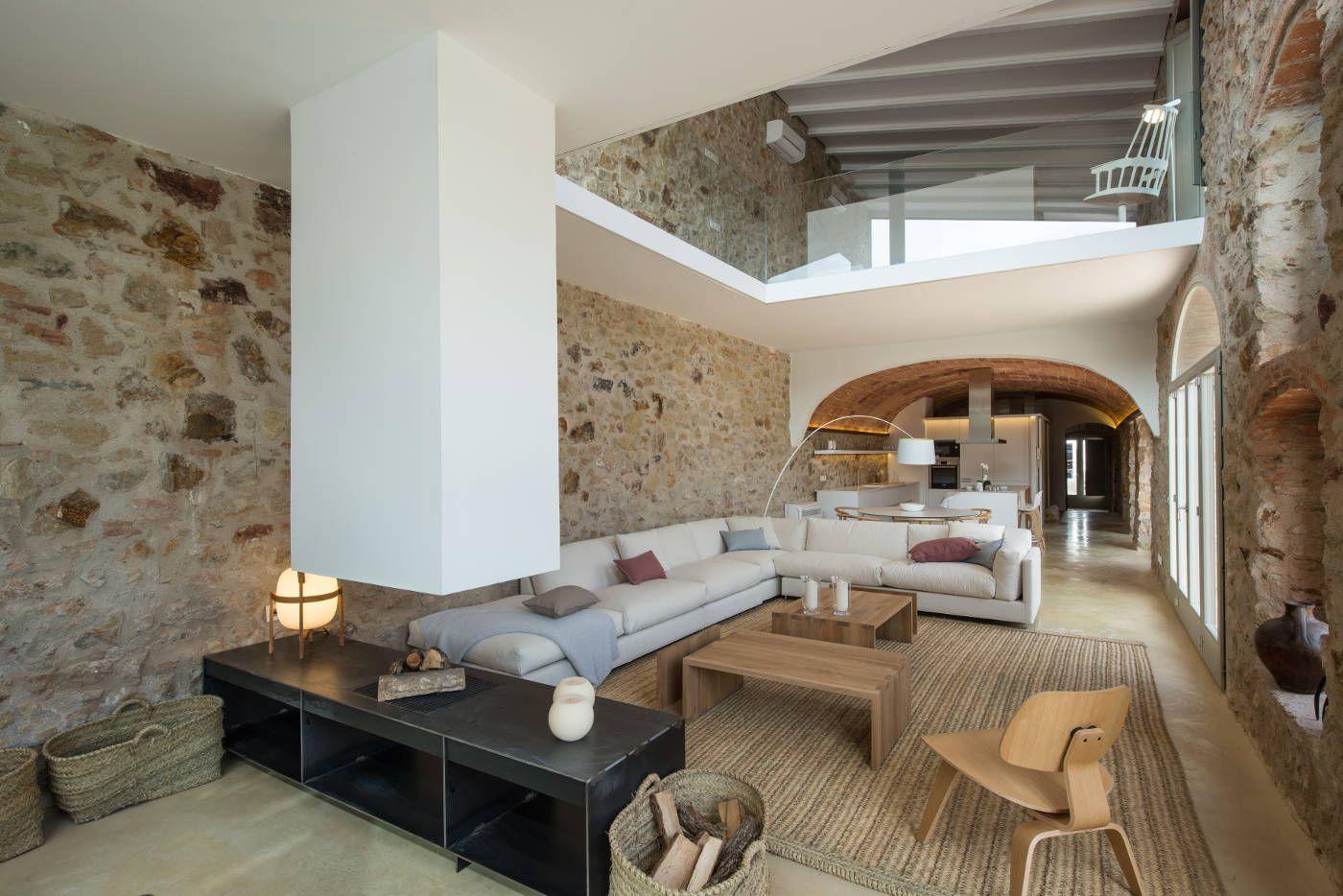 Rehabilitaci n e interiorismo de una casa de pueblo en la - Rehabilitacion de casas antiguas ...
