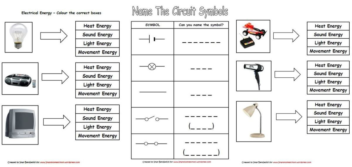 Combination Circuits Worksheet With Answers - worksheet