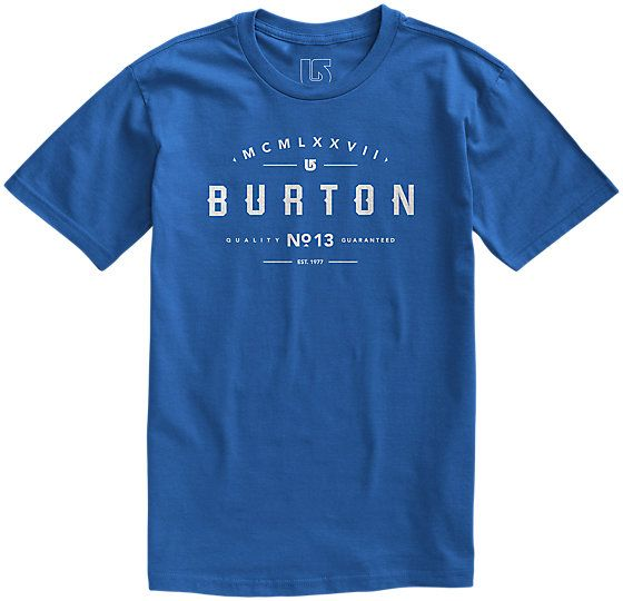 The Basic Numeral Short Sleeve T Shirt will be their new favorite tee, tailored for a natural fit. | #13Things Under $25 to Stuff in Your Stockings via Burton.com