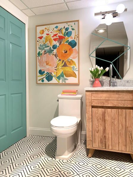 Photo of Basement Bathroom Reveal