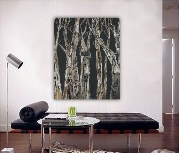 Oversized Masculine Home Decor Extra Large Vertical Wall Art Etsy Bedroom Artwork Dining Room Wall Art White Canvas Art