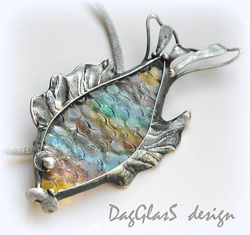 DagGlasS / Rybka 2v1-brošňa alebo náhrdelník