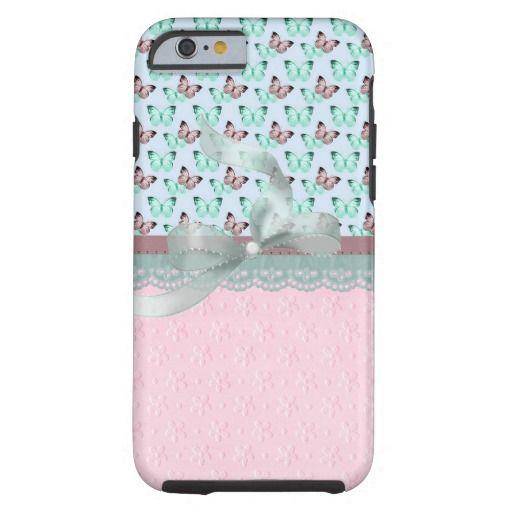 Butterflies Rose iPhone 6 Case