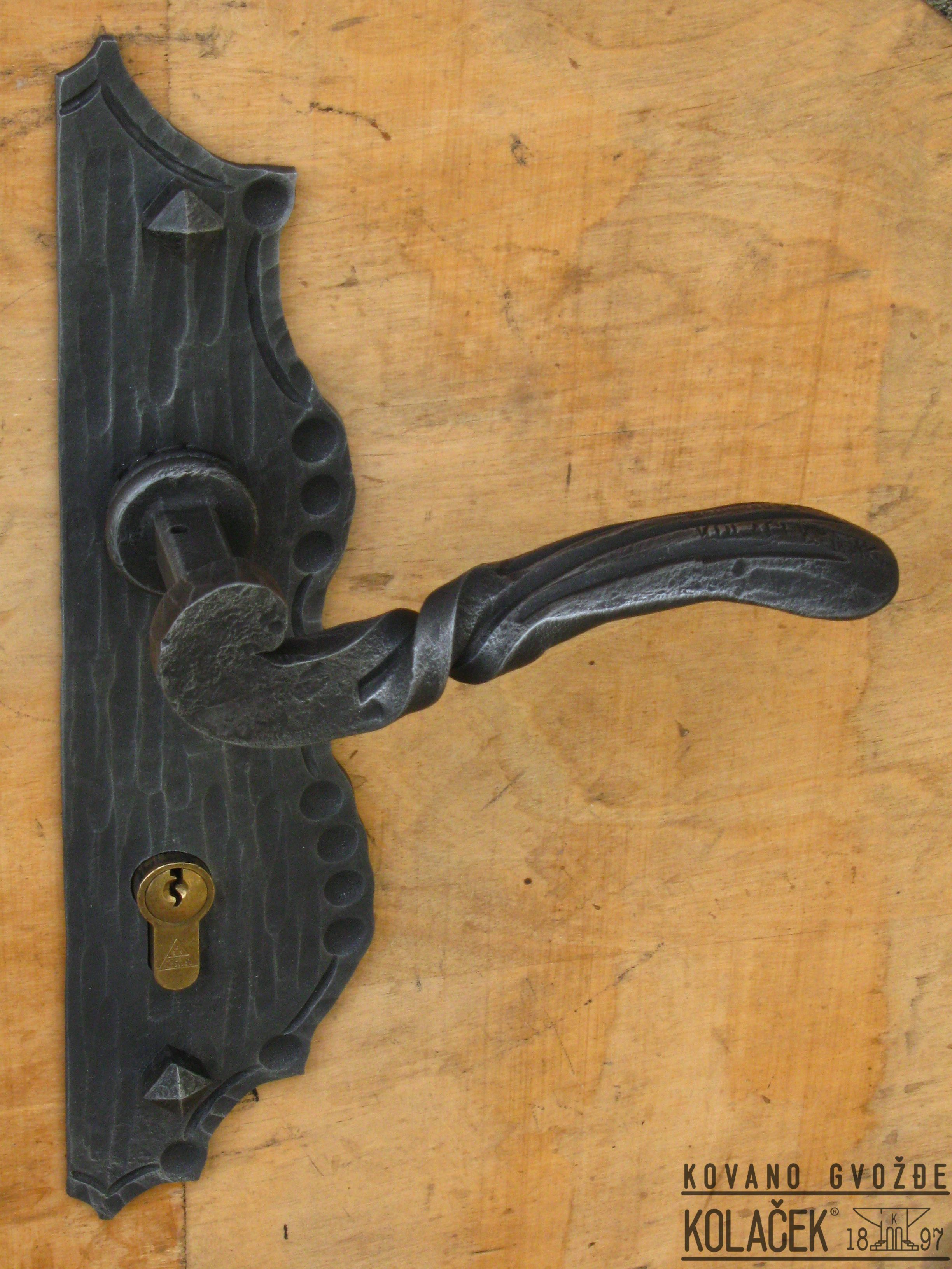 Awesome Iron Entry Door Hardware