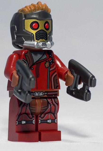 Guardians of the Galaxy - Star-Lord by gnaat_lego, via Flickr
