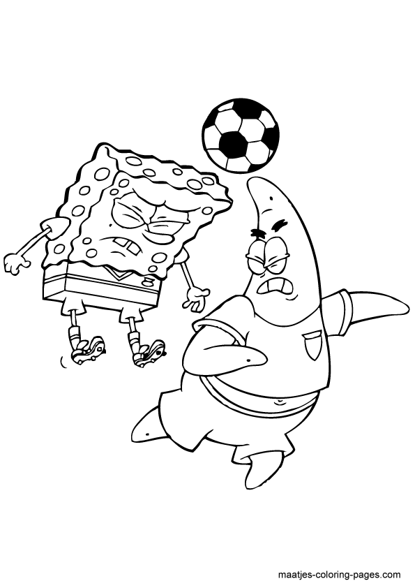 Spongebob and Patrick Coloring Pages | Spongebon and Patrick ...
