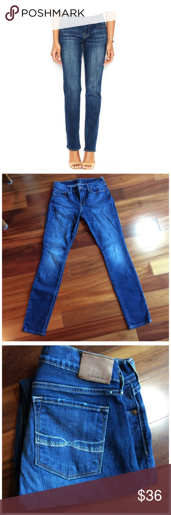 LUCKY BRAND SOFIA SKINNY Excellent condition cotton