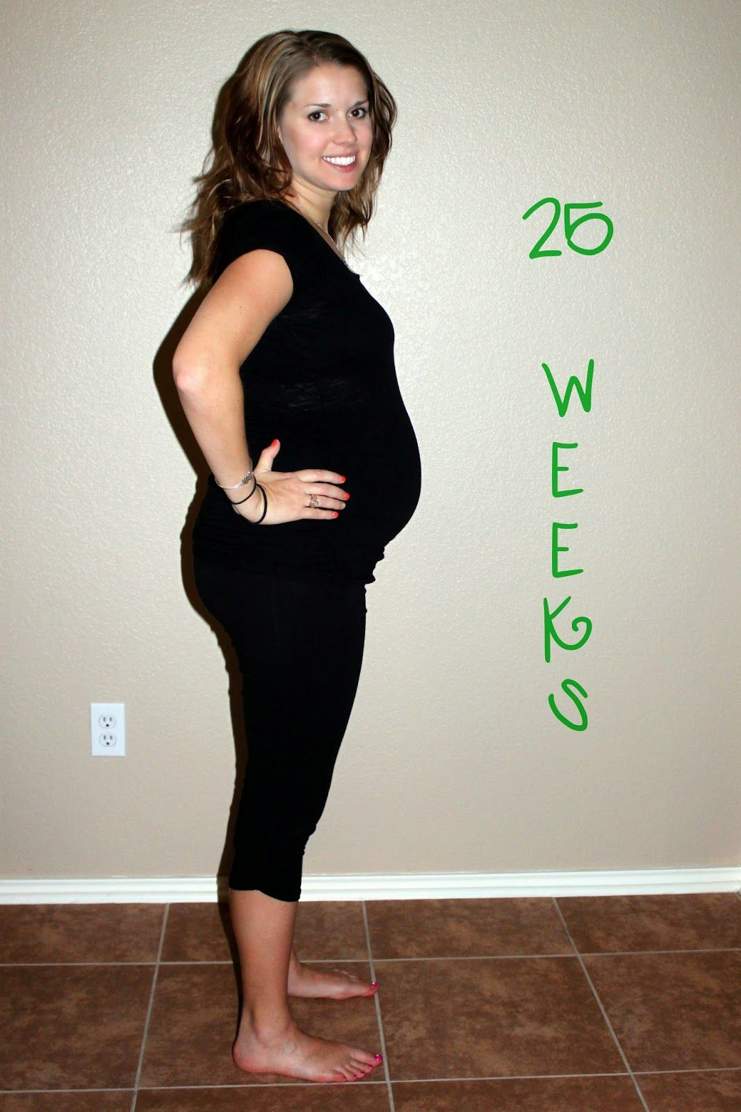25 Weeks...Our Little Cauliflower   Eggplant, How big is baby