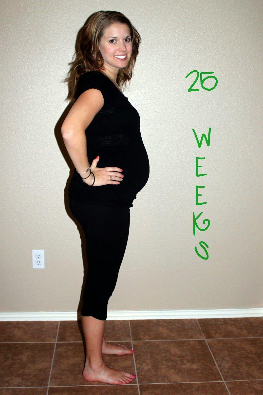 25 Weeks...Our Little Cauliflower