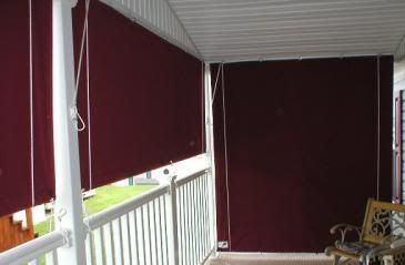 Residential Fabric Drop Curtains Solid By Austin American Awning