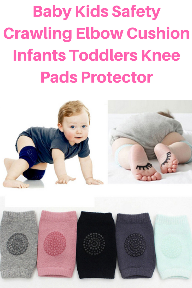 Boy | Protector for Toddler Baby Knee Pads for Crawling 2 Pairs Girl Infant
