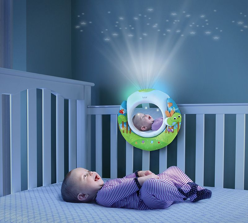 Put On A Music And Lights Show For Your Little Baby While They Are