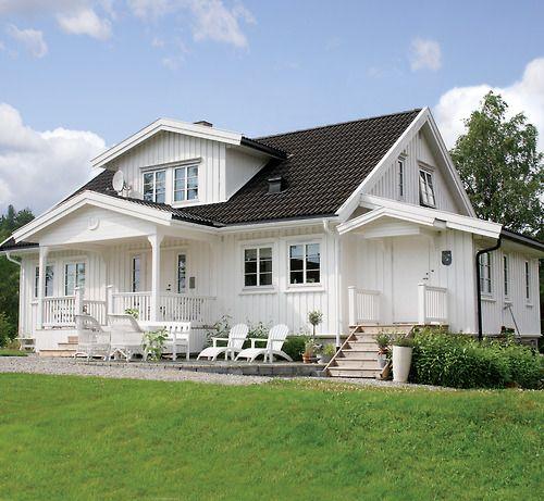 White Summer house