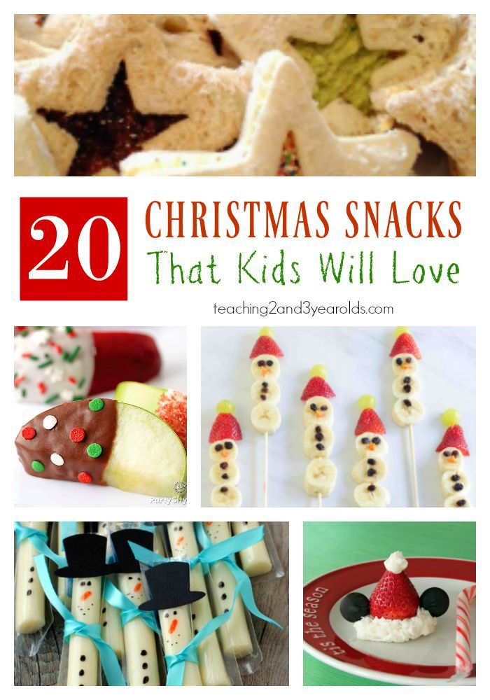 20 Easy Christmas Snacks For Kids Christmas Activities From