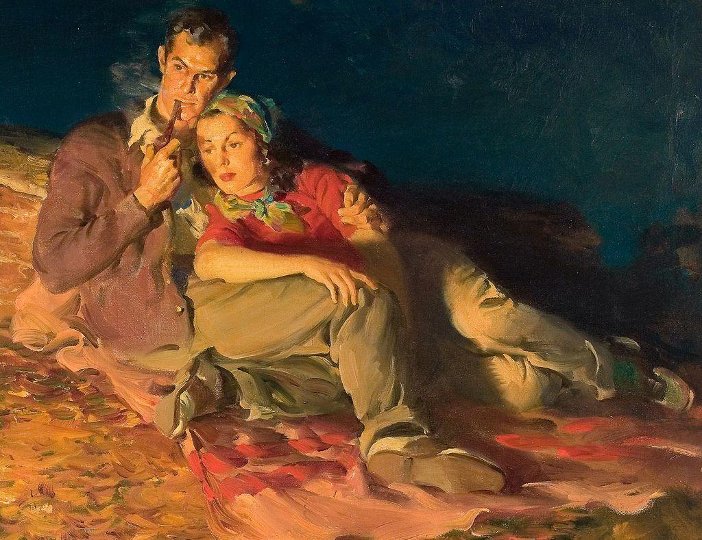 Haddon Sundblom With Images Art Vintage Painting