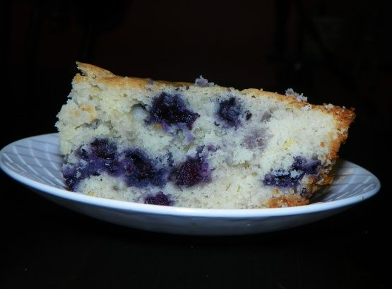 Buttermilk-Blueberry Breakfast Cake Recipe - Food.com