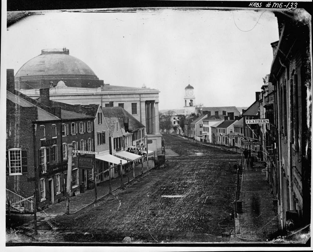 Exchange Street Portland Maine