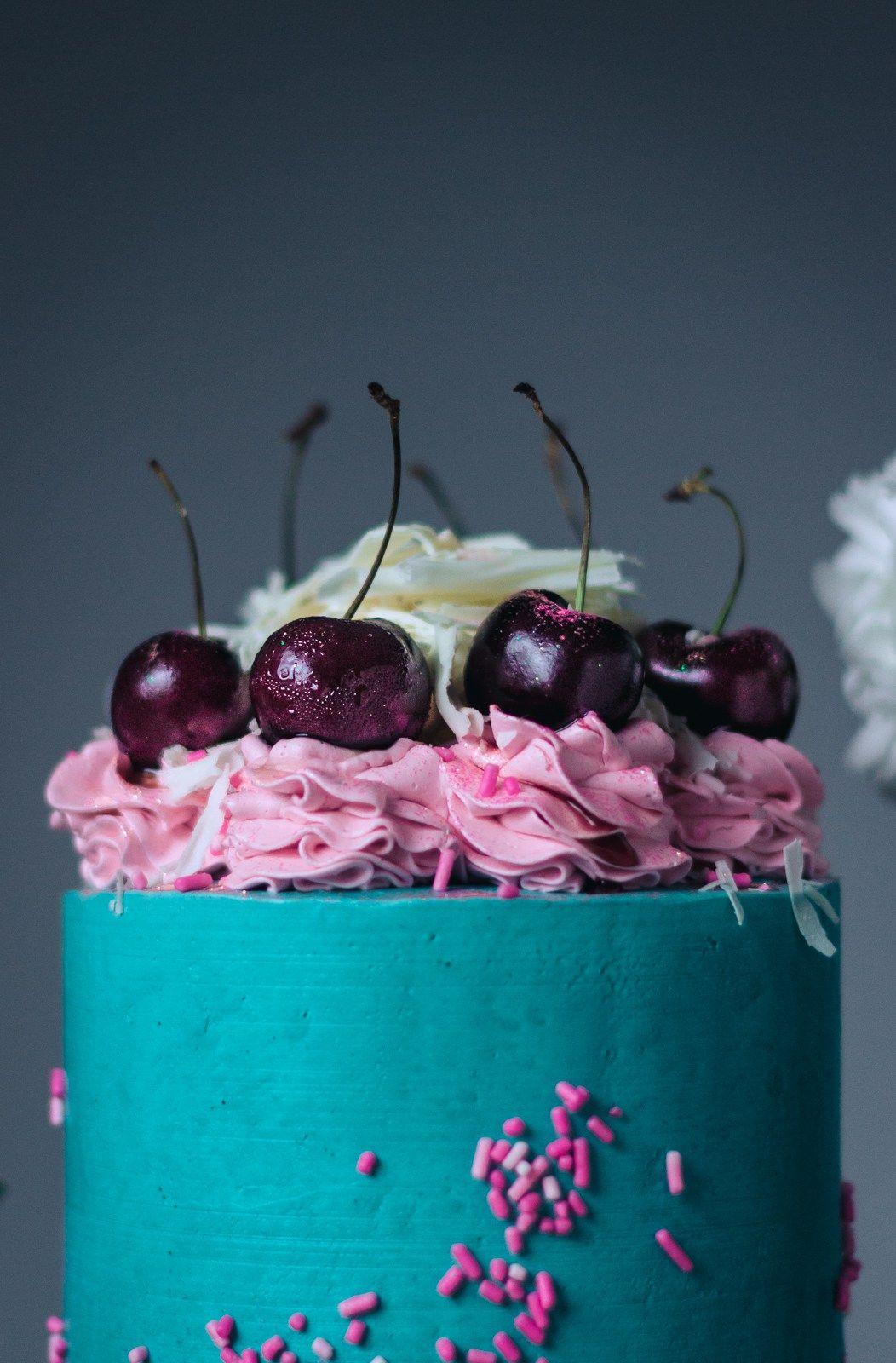 White Chocolate Luxury Layer Cake