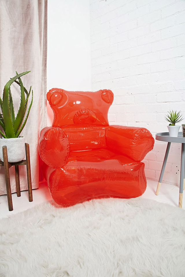 Inflatable Gummy Bear Chair   Bedroom   Pinterest     ...