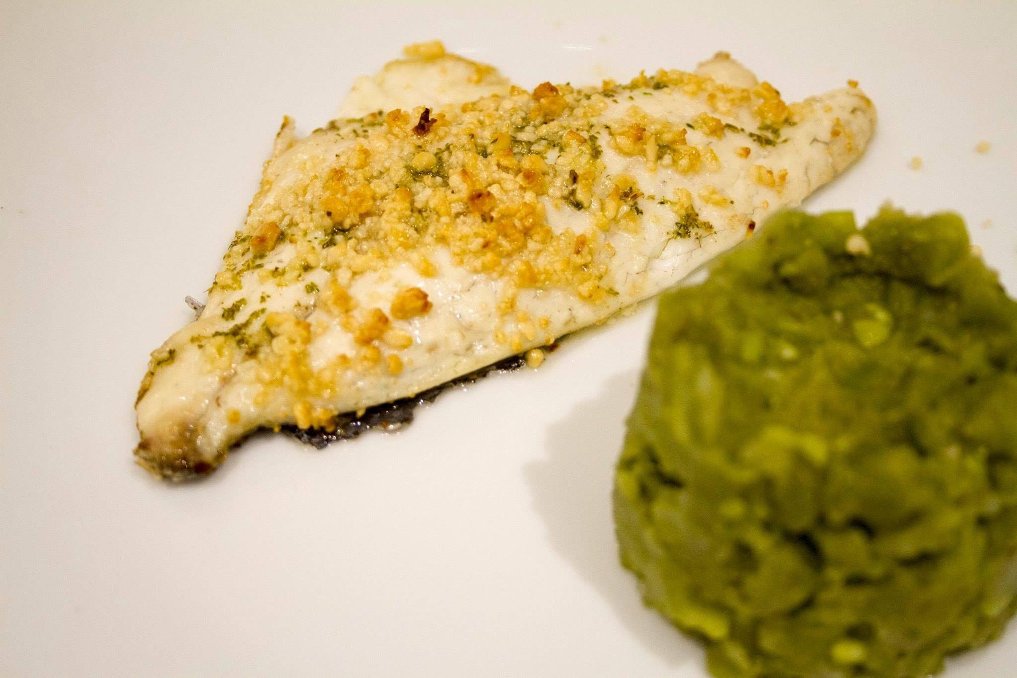 pesce con tortino verdure