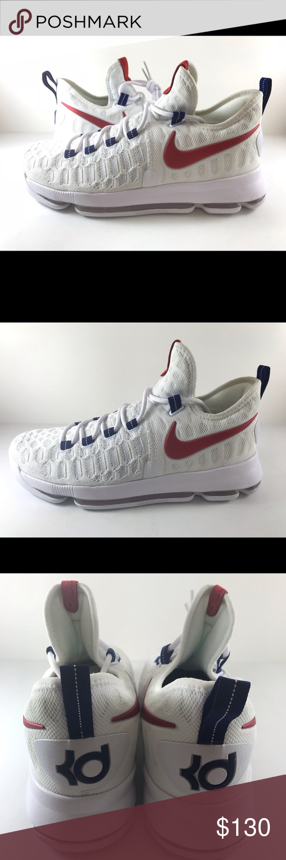 e47b9f8d89b Nike KD 9 Independence Day USA 843392-160 Mens Nike KD 9 Independence Day  USA 843392-160 Men s Size 10 Nike Shoes Athletic Shoes