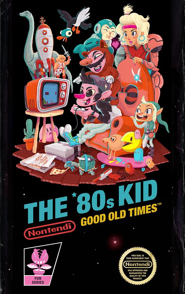 THE '80s KID on Behance