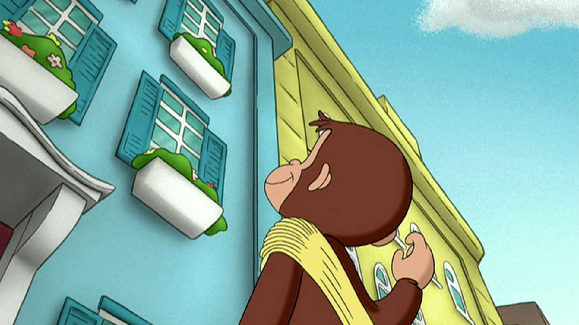 In The Video George Measures Up Curious George Needs To