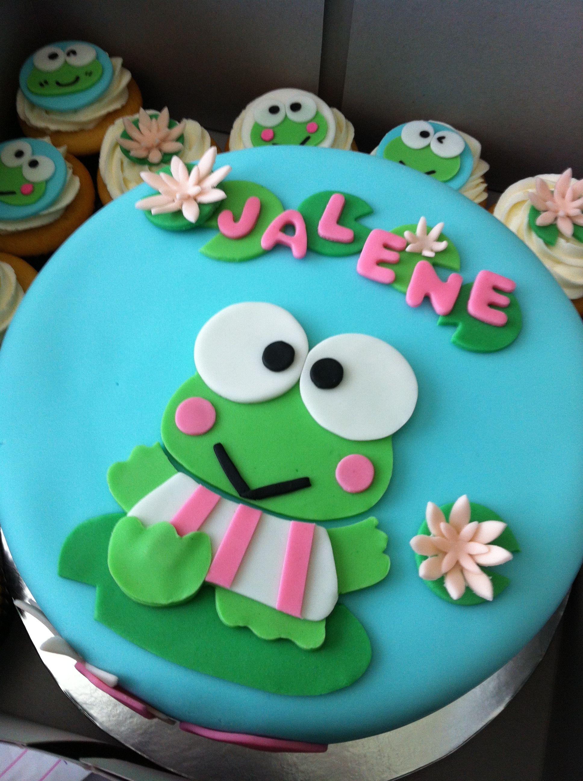 Keroppi Birthday Cake Sweet E S Cakes Amp Treats Cake
