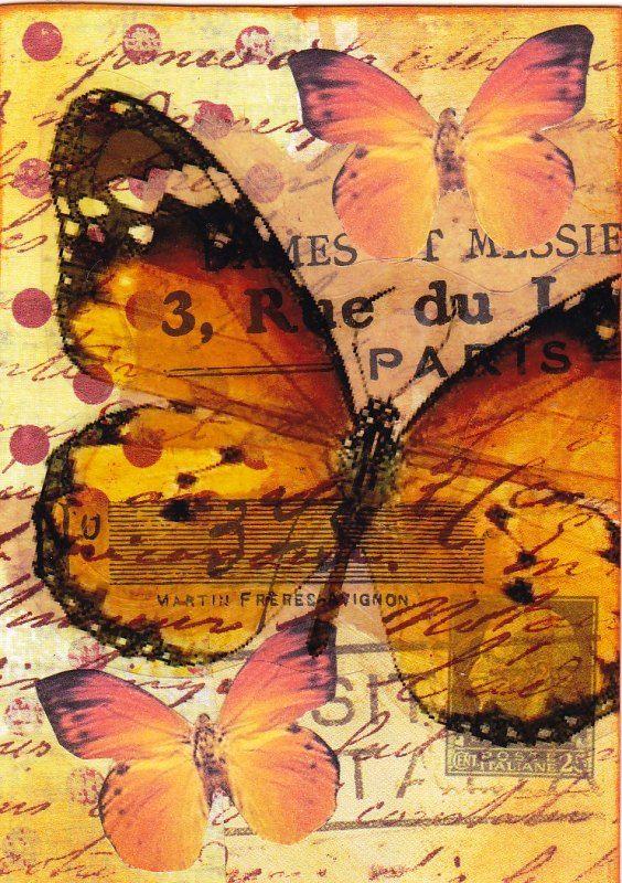 BUTTERFLIES | laminas para decoupage | Pinterest | Mariposas ...