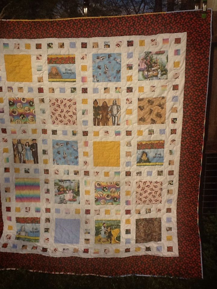 Wizard of oz quilt by m hale, using slide show pattern | Quilts ... : quilts by the oz - Adamdwight.com