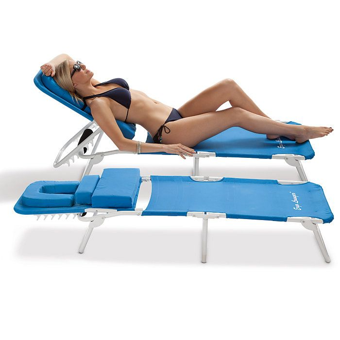 Ergonomic Beach Lounge Chairs