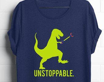 dd6924e9 Adult T-Rex Shirt | Adult Dinosaur Shirt | Funny Dinosaur | Shirts for  Teens | Gifts for Teens | Unstoppable T-Shirt | Funny Gift for Guys