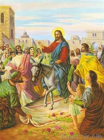 Jerusalem in jesus einzug Der Einzug