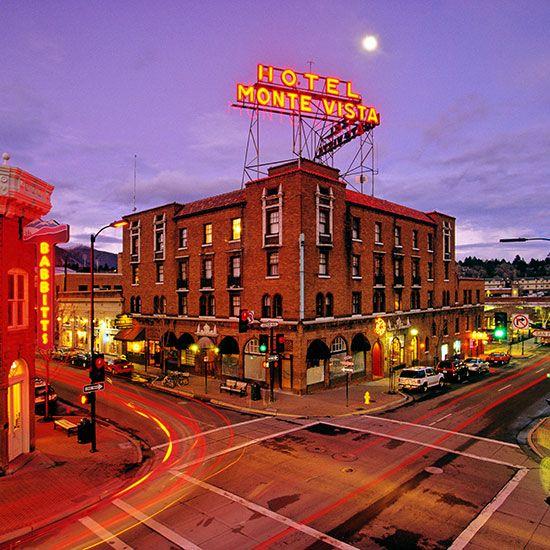 America S Haunted Restaurants And Hotels Hotel Monte Vista Flagstaff Az