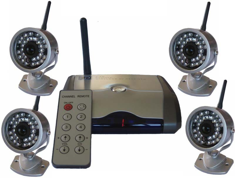 Nice Wireless Surveillance Cameras | CCTV | Pinterest | Wireless ...