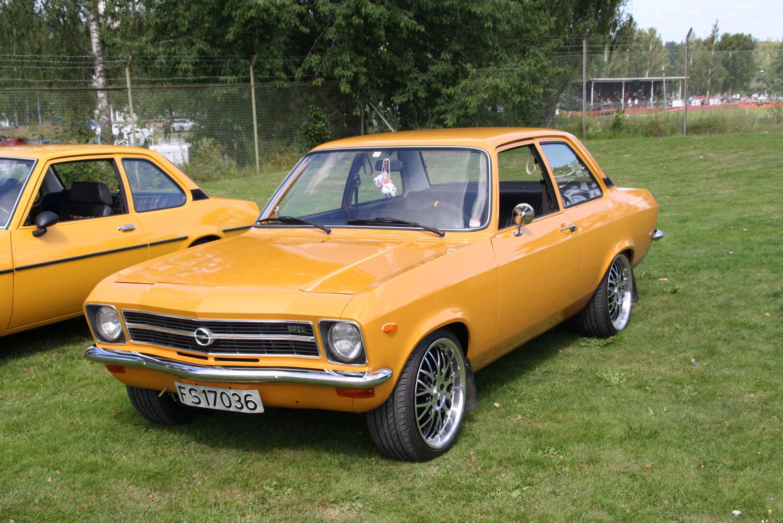 Opel Ascona A Opel Ascona Photo