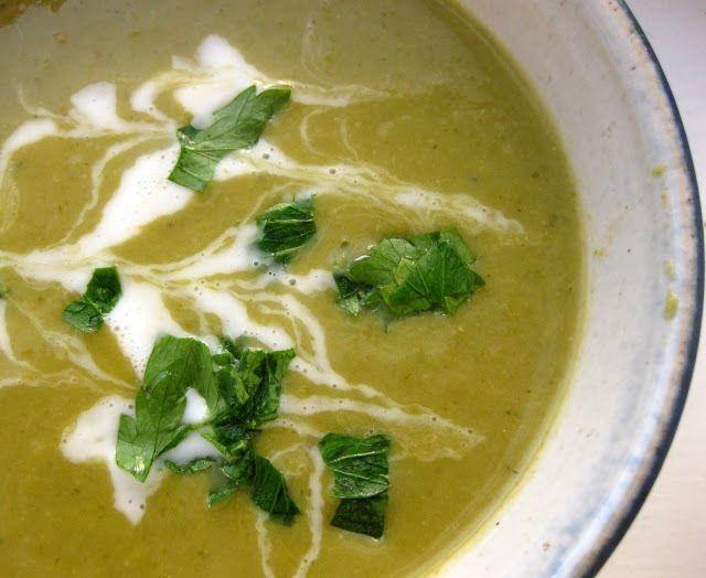 Creamy Asparagus Soup with Coconut Milk Recipe | FaveGlutenFreeRecipes.com