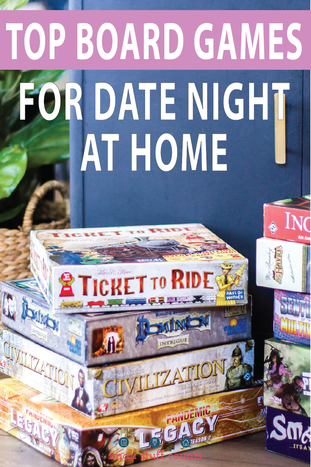 Top 2 Player Board Games for Couples to Play for Date