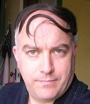 bad toupees | Man Wearing Toupee | Un-B-weaveable