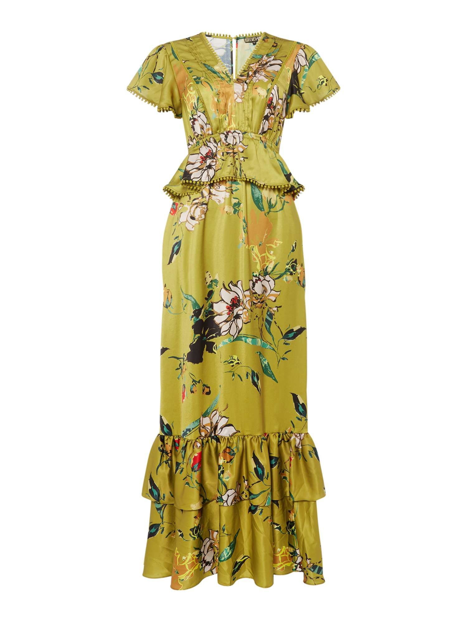 outlet new product large discount Biba Pom Pom Detail Maxi Dress - House of Fraser   Dresses ...