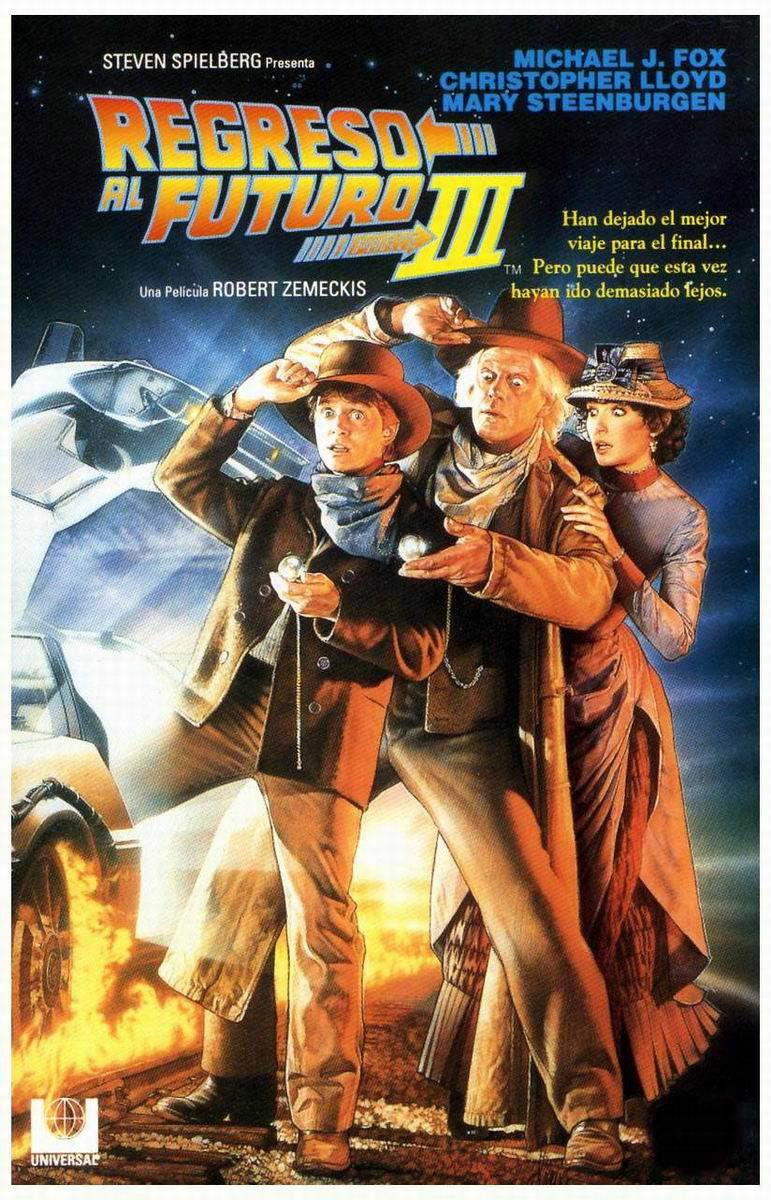 Back To The Future Part Iii 1990 Director Robert Zemeckis