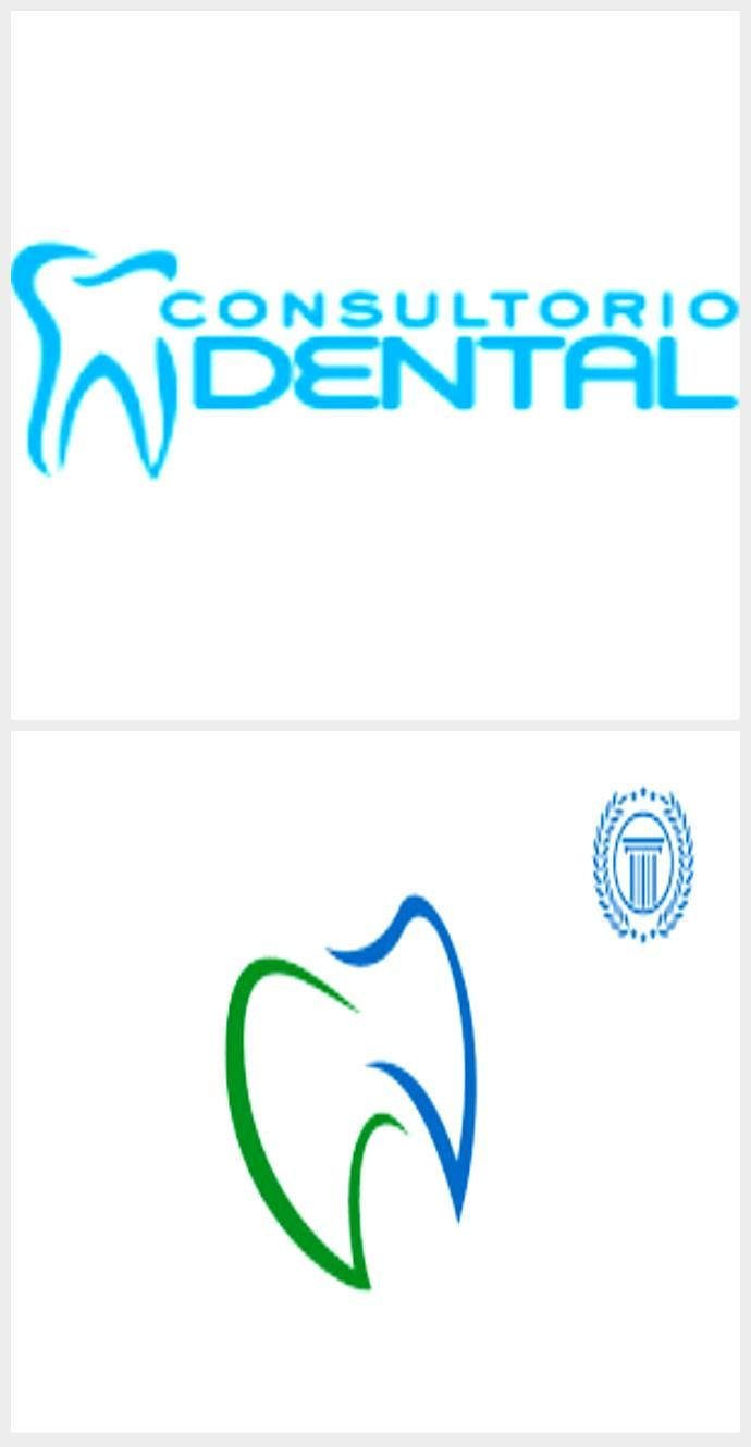Result of the dental logos #dentallogo