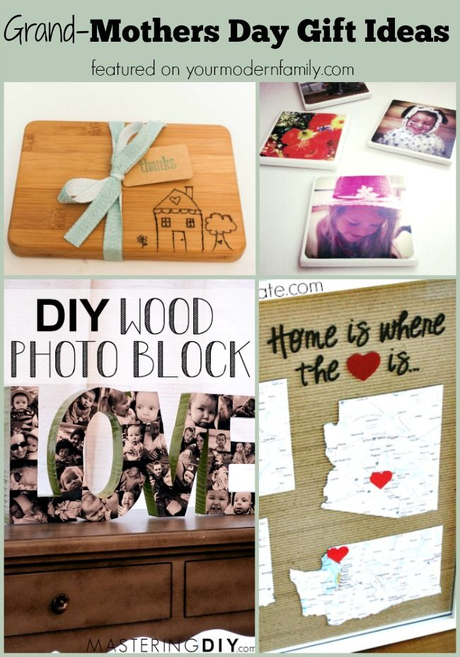 If you need a last minute DIY grandmothers gift ideas  you have them here! They are all