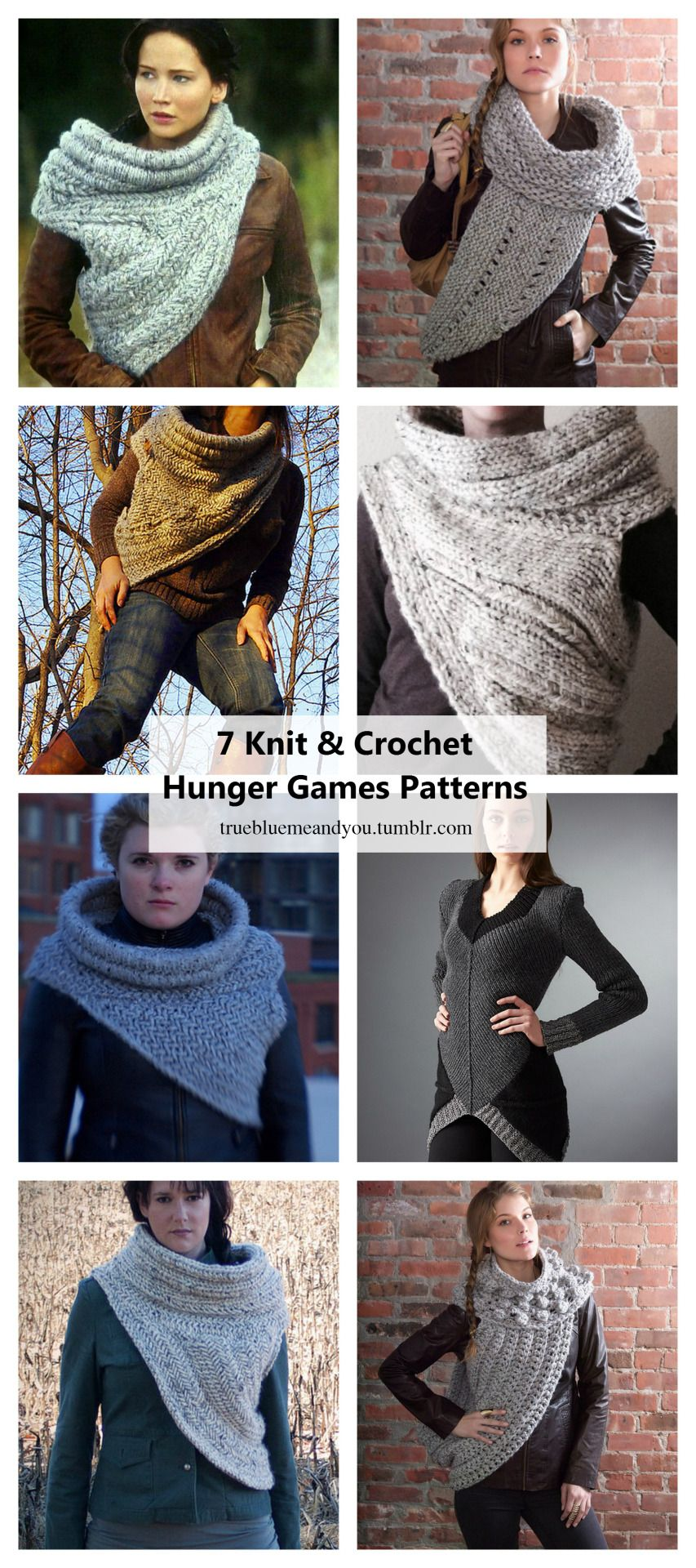 7 Knit And Crochet Hunger Games Katniss Patterns Roundup By
