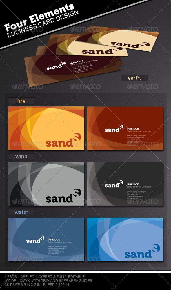 Best Business Card Color Combinations Image collections - Card ...