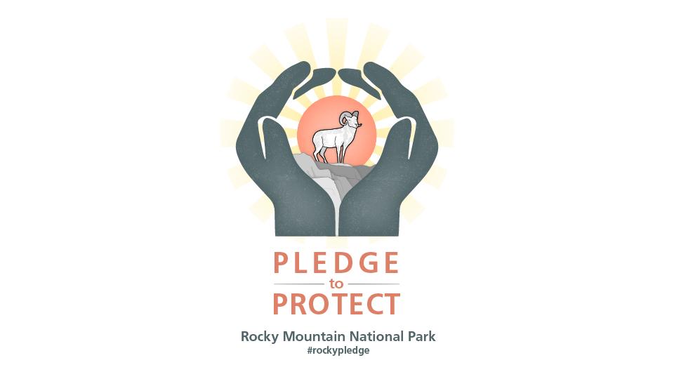 Rocky Mtn NP pledge emblem Perros