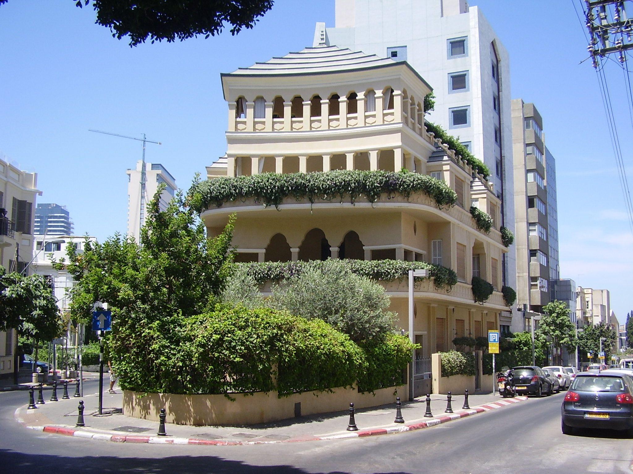 Pagoda House... Tel Aviv, Israel...