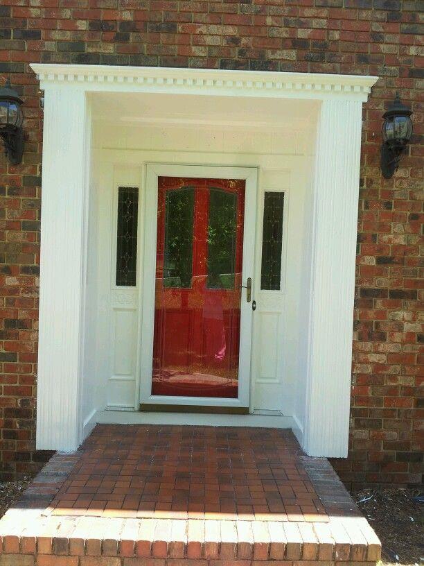 Heritage red. Benjamin moore paint! | Front door, Doors ...