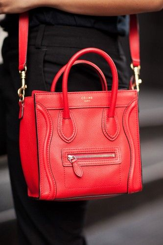 Céline Bag Shoes To Match More Street Spotted Accessories After The Jump